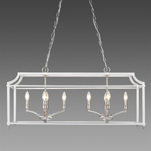 Golden 8401-LP PW-WH - Linear Pendant
